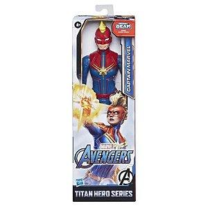Figura Articulada - 30 Cm - Titan Heroes - Disney - Marvel - Avengers - Capitã Marvel - Hasbro