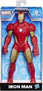 Figura Articulada - 24Cm - Disney - Marvel - Avengers - Homem De Ferro - Hasbro