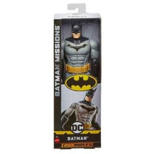 Figura De Ação - 30 Cm - Dc Comics - Liga Da Justiça - Batman Mission - Mattel
