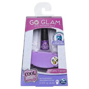 Go Glam Nail Fashion Pack - Mini, Sunny, 2131, Multicolor