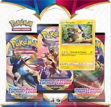 Pokémon Espada e Escudo Morpeko e Ponyta de Galar - Triple Pack Copag