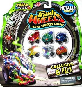 Trash Wheels Blister Com 6