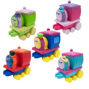 Brinquedo de Encaixar - Bob O Trem - Aventura em Família - Fun
