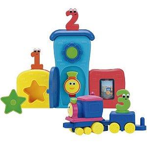 Playset Mini Veículo Bob o Trem Pela Cidade - Fun Divirta-se