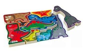 Monta Encaixa Dinossauros - Estrela