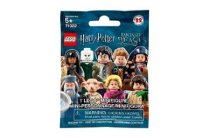 Mini Figures Harry Potter E Animais Fantásticos Lego Sem Cor Especificada