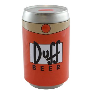 Cofre latinha duff beer