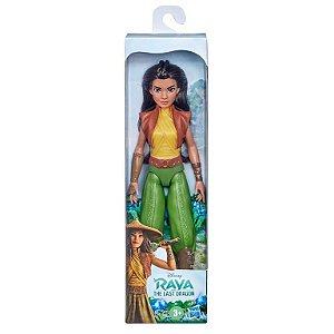 Boneca Disney Raya Básica - F0082 - Hasbro