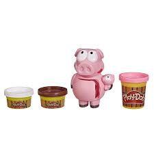 Massinha Play-Doh Porquinhos Travessos - F0653 - Hasbro