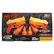 Lançador de Dardos - Nerf com Alvo Duplo - Alpha Cobra - Hasbro