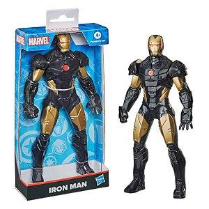 Boneco Articulado - 25Cm - Disney - Marvel - Olympus - Iron Man Black - Hasbro