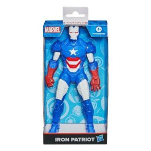 Boneco Homem De Ferro Patriota Olympus 25cm 4+ F0777 Hasbro