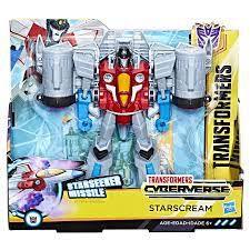 Transformers Cyberverse Ultra Class Starscream E1906 -Hasbro
