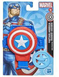 Lança Discos Capitão América Marvel - Hasbro - F0522