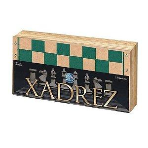 Xadrez Oficial - Cx Em Madeira 40Cm S/ Feltro