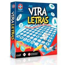 Jogo Vira Letras Brinquedos Estrela