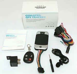 Rastreamento Coban gps 303g Quad band Veículo GPS GSM GPRS Rastreador de carro Alarme de Assaltante sistema de Plataforma Web livre serviço