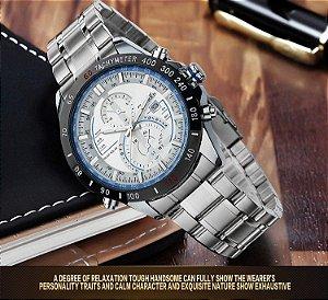 Completa de aço Inoxidável Relógio de Quartzo Dos Homens de luxo Homem Relógio de Pulso Relojes hombre Curren Esporte Militar Analógico Relógio de Pulso Novo presente