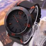 V6 grande Dial moda Casual relógios homens marca de luxo analógico esporte militar relógios Silicone relógio de quartzo Masculino Reloj AB600