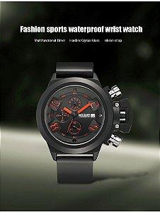 Relógio masculino 2016 JEDIR marca assista militar à prova d ' água 30 M banda Silicone relógio de quartzo dos homens esportes da forma relógios relogio masculino