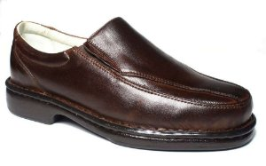 Sapato Masculino Confort Pele Carneiro Palmilha Massageadora