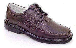 Sapato Masculino Marrom ou Preto Confort Tamanhos 45 46 e 47