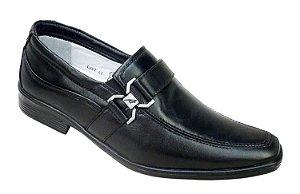 Sapato Confortável Masculino Couro Carneiro Palmilha Gel