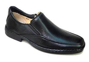 Sapato DiabéticosAntistress Couro Carneiro Palmilha Massageadora