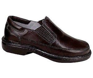Sapato Masculino Tamanho 36 ao 47 Linha Relax Pele de Carneiro