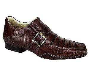 Sapato Mondeo em Couro com Fivela Legítimo Alcalay Calçados
