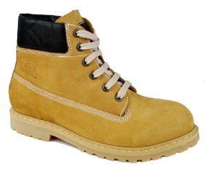Coturno Bota Adventure Work Couro Natural