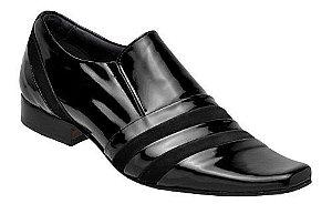 Sapato Social Verniz Preto