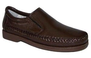 Sapato Linha Confort Pele de Carneiro Sola Borracha