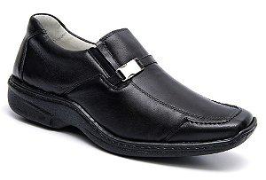 Sapato Preto Confort Pelica Mafisa Calçados