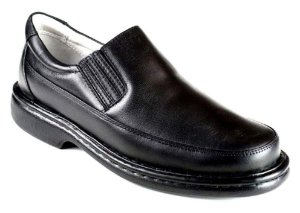 Sapato Preto Masculino Confortável Antistress