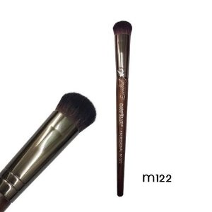 Pincel pó e iluminador Linha Madeira Macrilan Profissional M122