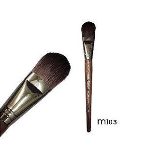 Pincel para base Linha Madeira Macrilan Profissional M103
