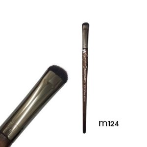 Pincel Sombra Achatado Linha Madeira Macrilan Profissional M124