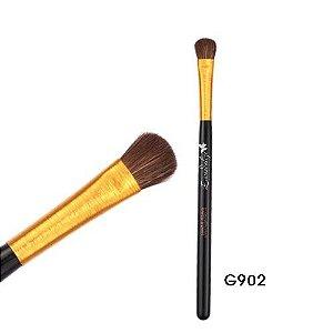 Pincel Cerda Natural Sombra Linha Gold Macrilan Profissional G902