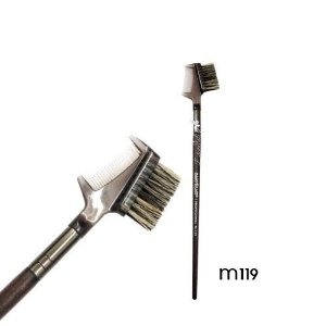 Pente/Escova Sobrancelha Linha Madeira Macrilan Profissional M119