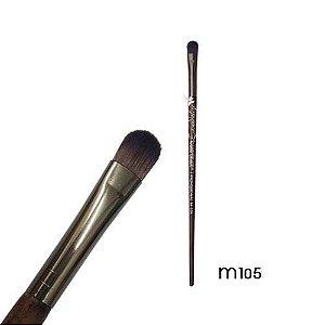 Pincel Sombra Precisão Linha Madeira Macrilan Profissional M105