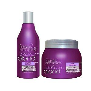 Forever Liss Kit Manutenção Desamarelador Platinum Blond