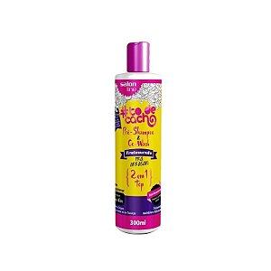 To de Cacho Pré Shampoo e Co Wash Pra Arrasar 2 em 1 300ml