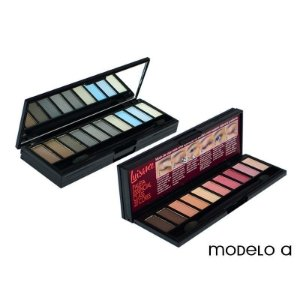 Paleta de Sombras Neutras Essencial Luisance 20 cores Modelo A