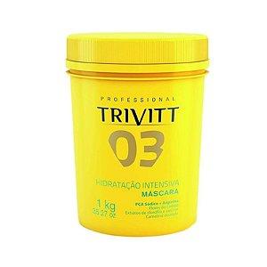 Trivitt 03 Hidratação Intensiva Profissional Itallian HairTech 1kg