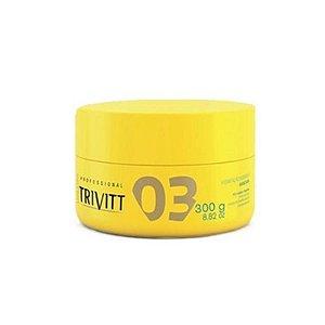 Trivitt 03 Hidratação Intensiva Profissional Itallian HairTech 300g