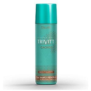 Trivitt Cachos Shampoo Tratamento Pré Nutrição e Hidratação Itallian 250ml