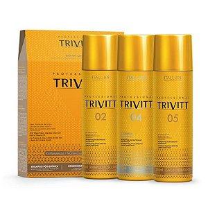 Italian Hairtech Trivit Kit manutenção 3X250ml