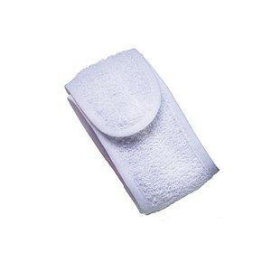 Faixa para Cabelo Atoalhada com Velcro cor Preta