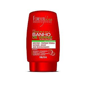 Leave-in Banho de Verniz Morango Forever Liss Termo Protetor 150g